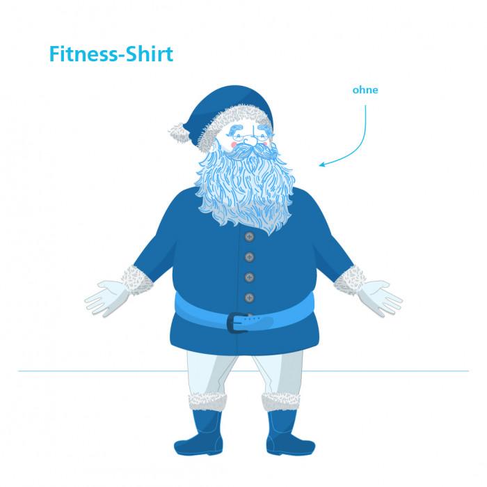 Sporty Santa Claus